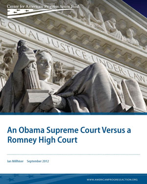 An Obama Supreme Court Versus a Romney High Court