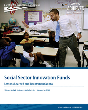 Social Sector Innovation Funds
