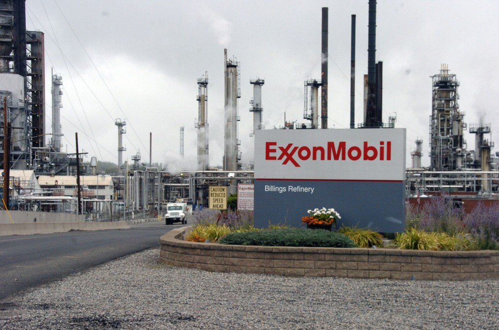 Exxon Mobil's Billings Refinery is shown in Billings, Montana, September 21, 2016.
