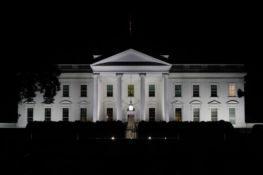 The White House is seen in Washington, May 2017.