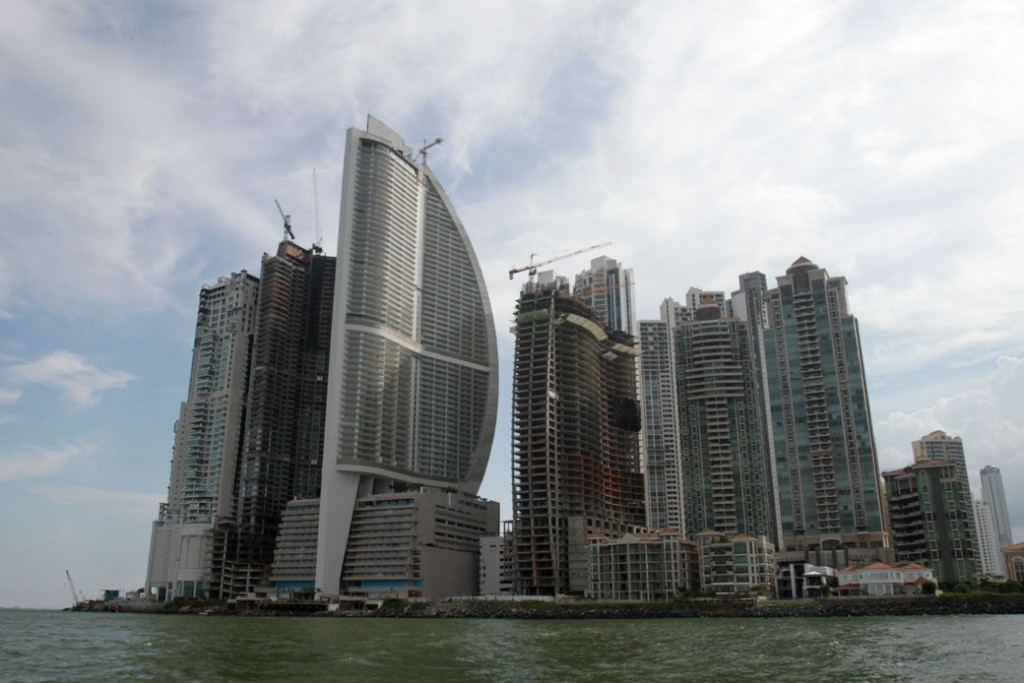 The Trump Ocean Club International Hotel and Tower is shown in Panama City, July 4, 2011.