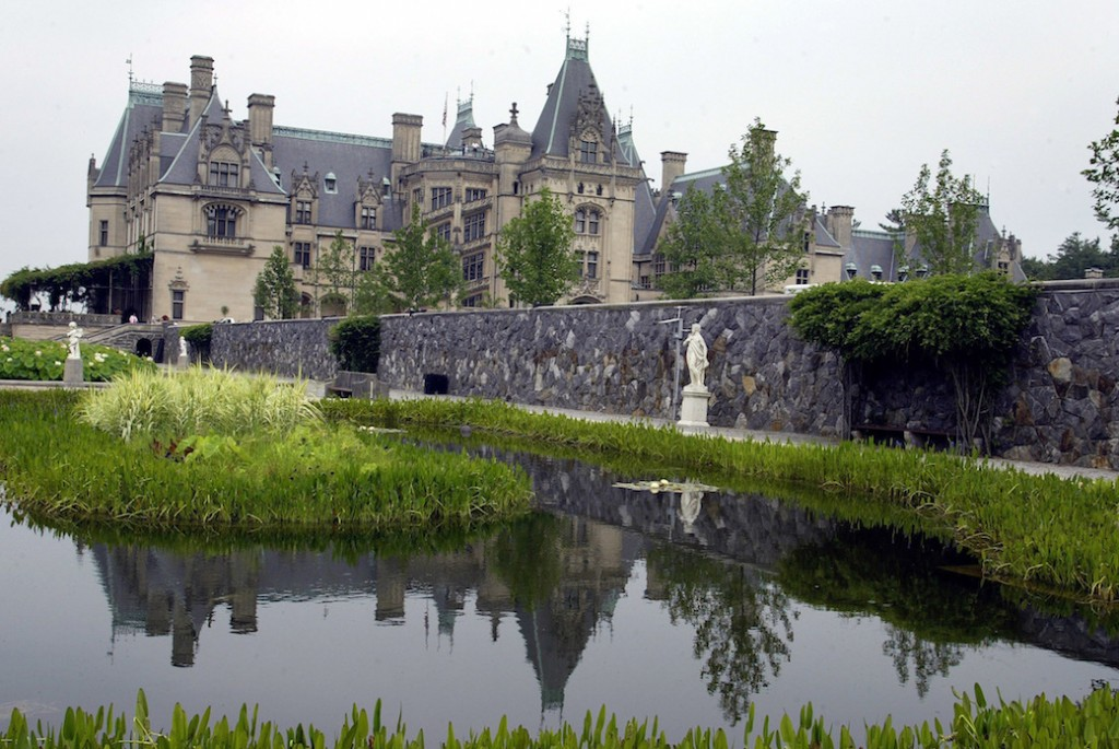 Biltmore House, a privately owned estate in Asheville, NC, harkens back to an earlier era of wealth inequality in the United States.