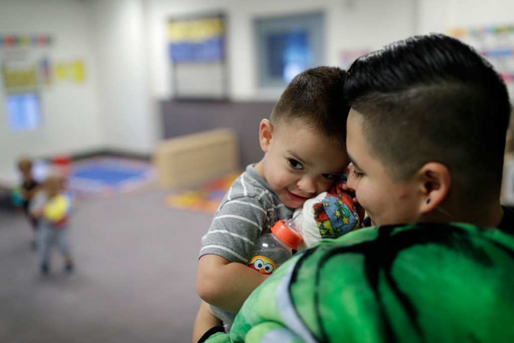 The importance of child care safety protections center for apjohn lochera mother holds her 2 year old son at the mccarran international child development center in las vegas september 2017 malvernweather Image collections
