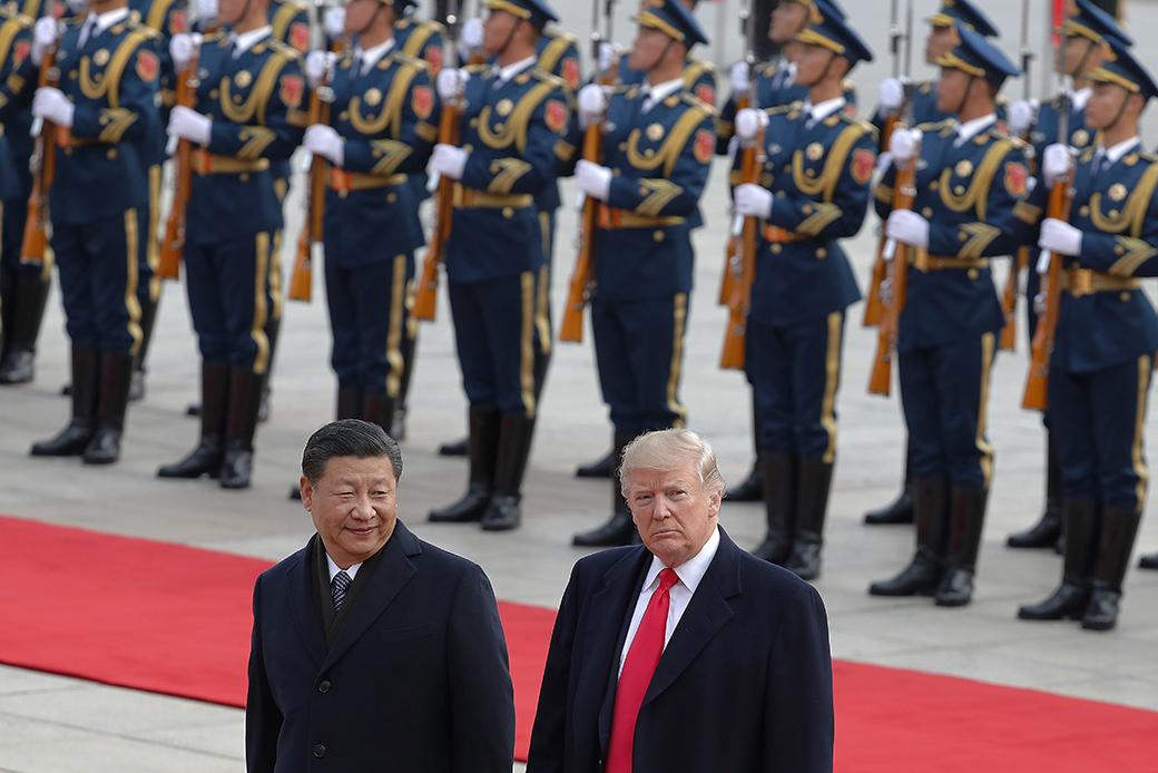 As Trump Withdraws America from the World, Xi's China Takes Advantage