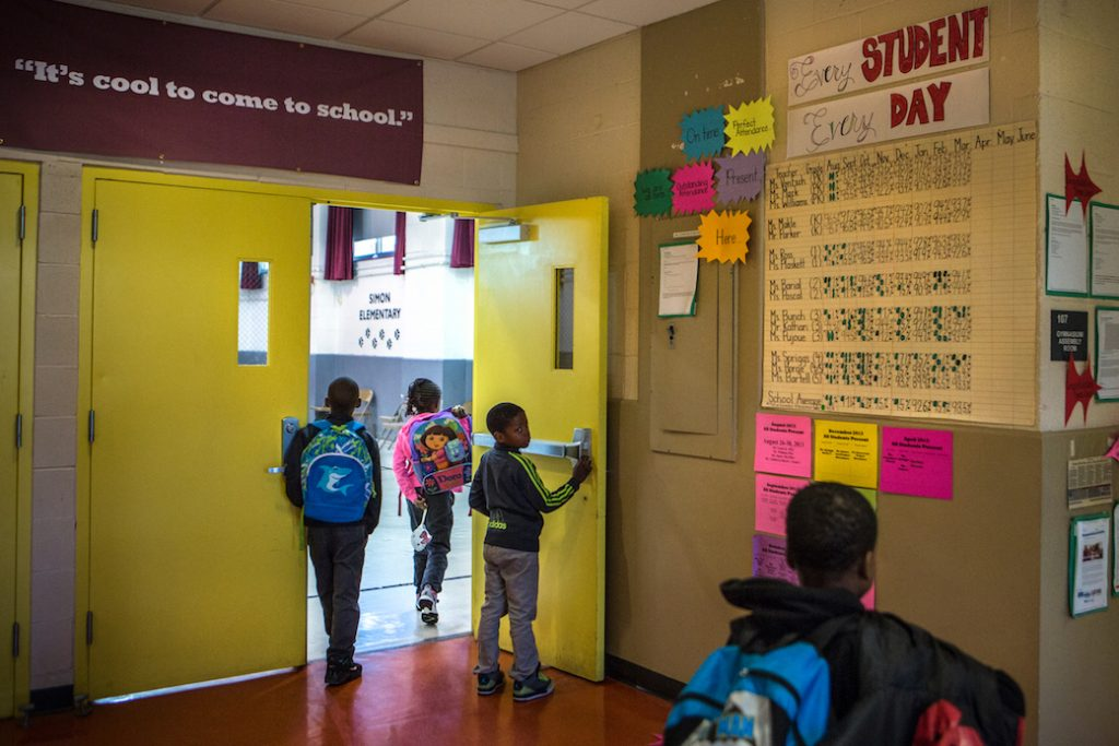 Improving attendance at Simon Elementary in SE