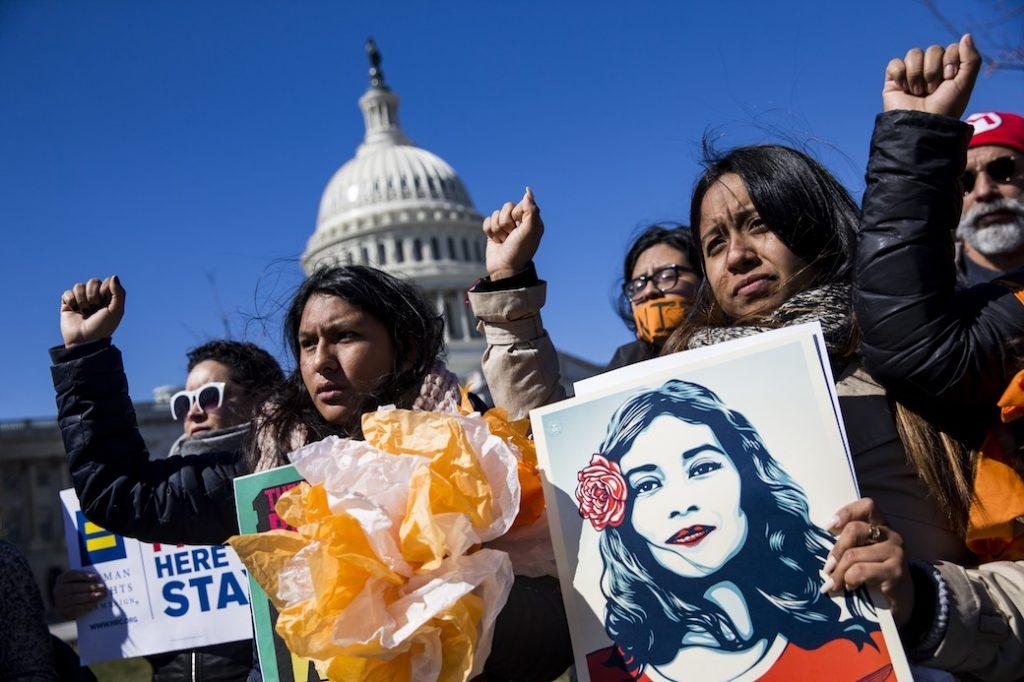 DACA Protest in Washington