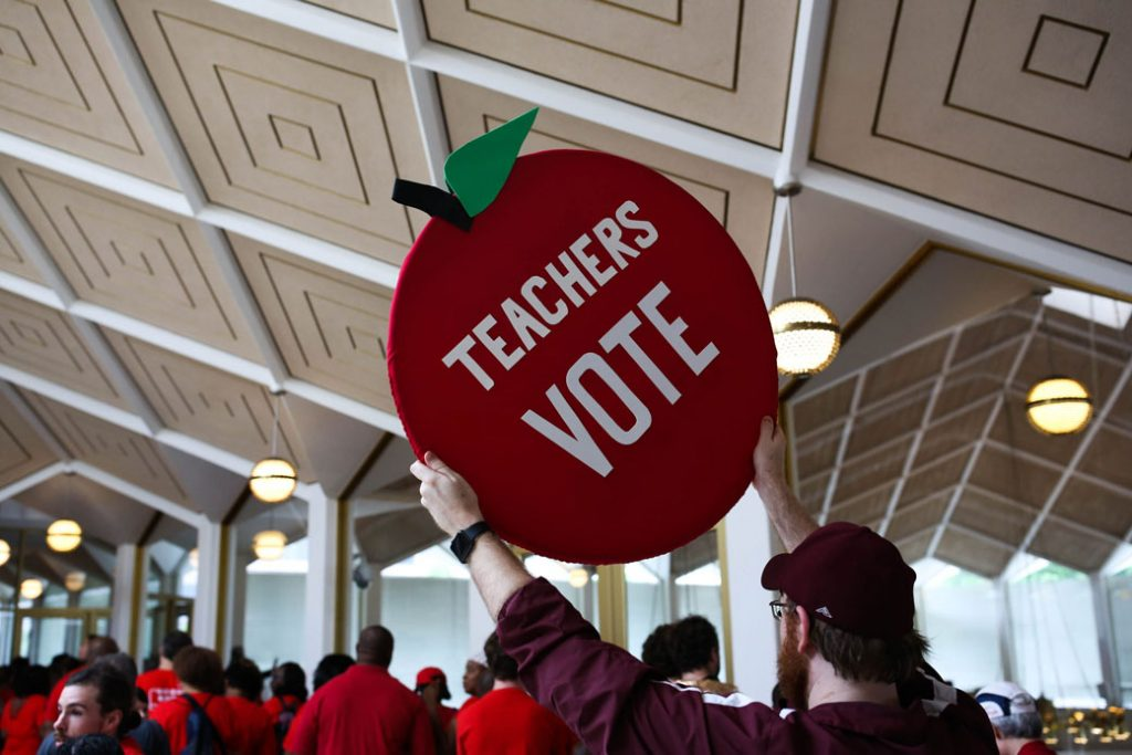 On May 16, 2018, Teachers from across the state of North Carolina marched through Raleigh in protest of chronic disinvestment in public education.