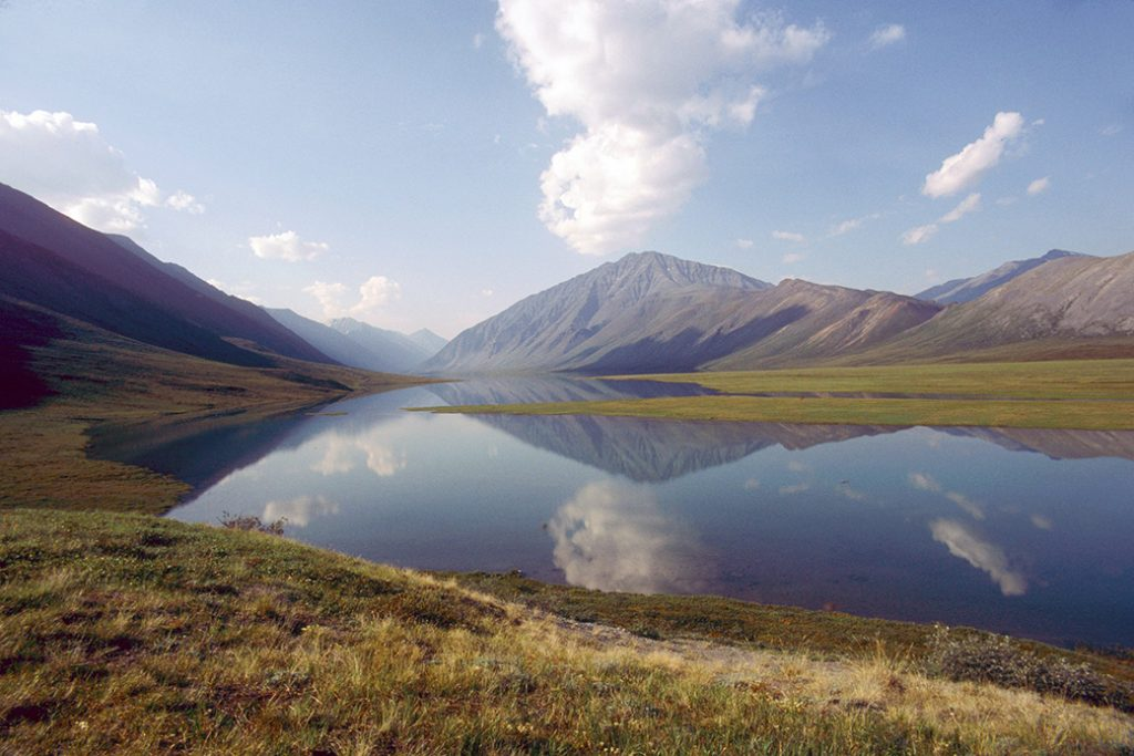The Arctic National Wildlife Refuge in Alaska is pictured.