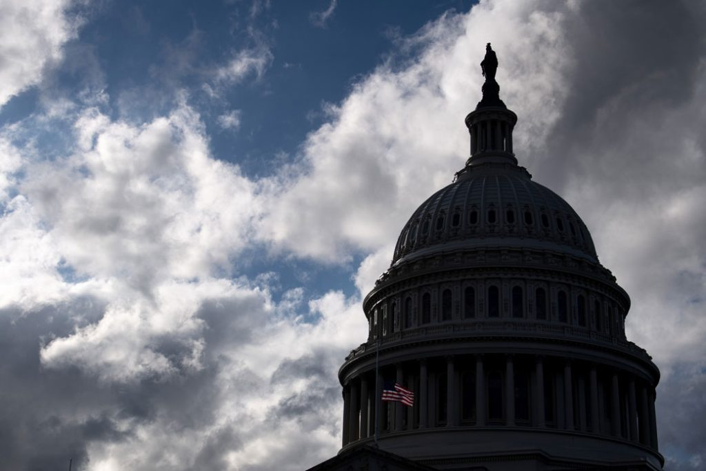The U.S. Capitol is seen ahead of the partial government shutdown in Washington, D.C., December 2018.