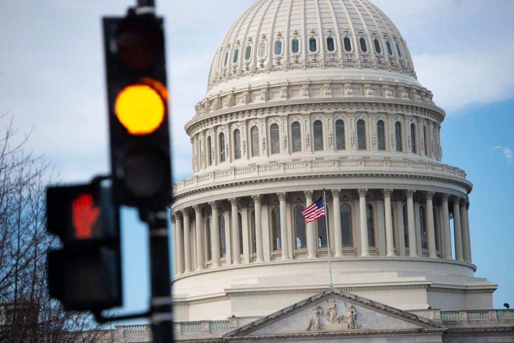 The U.S. Capitol Building, January 2019.
