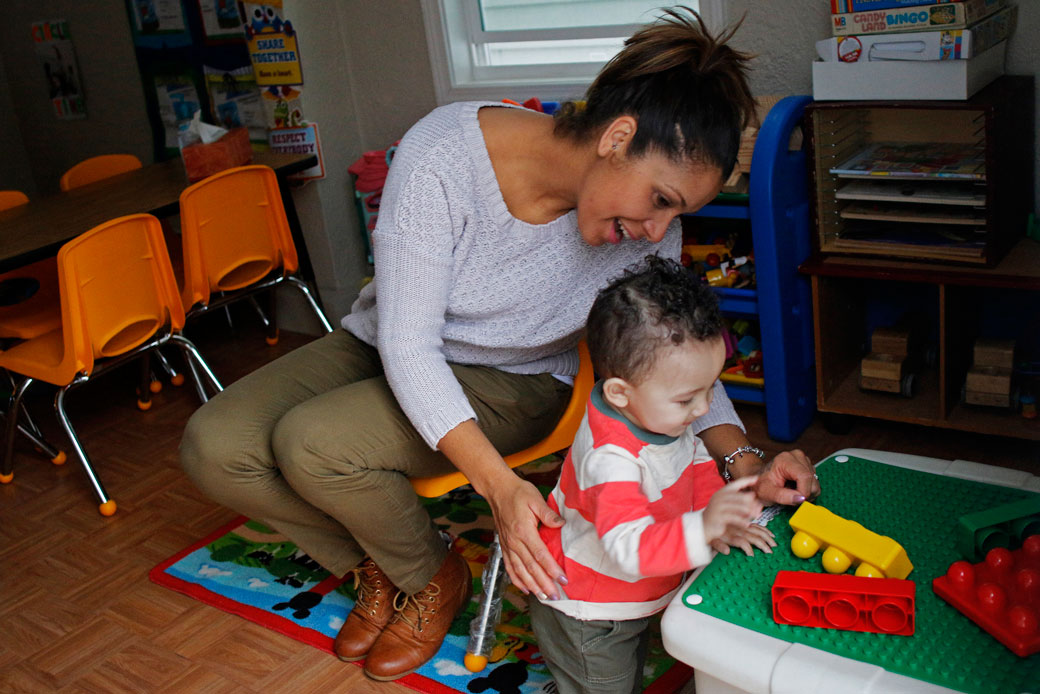 The Child Care Crisis Is Keeping Women Out of the Workforce