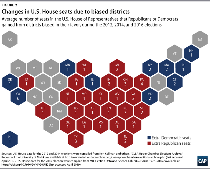 Voter Determined Districts Center For American Progress