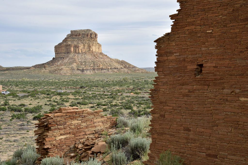 New Mexico's Chaco Culture National Historic Park, May 2015.