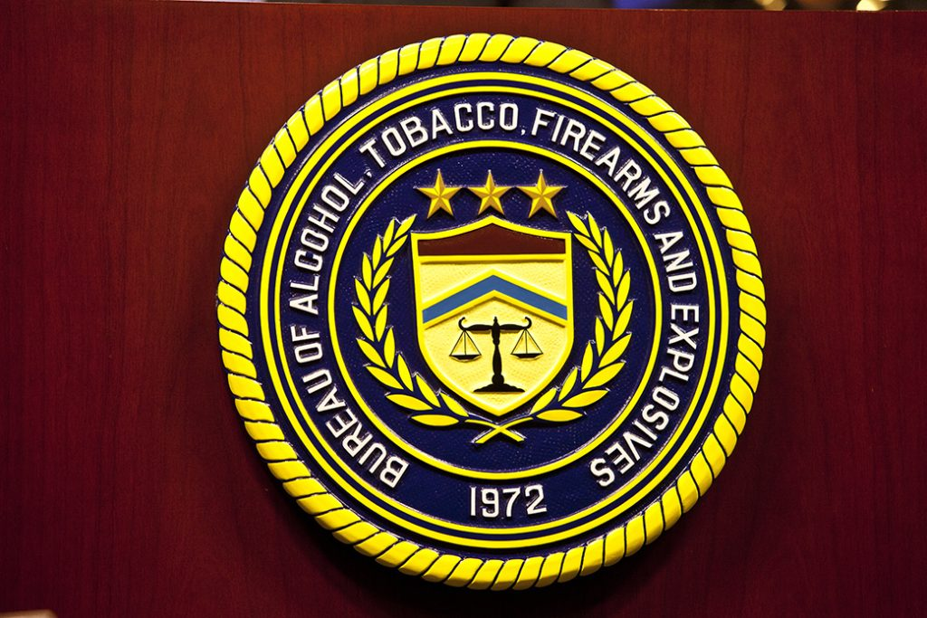 The ATF seal is seen.