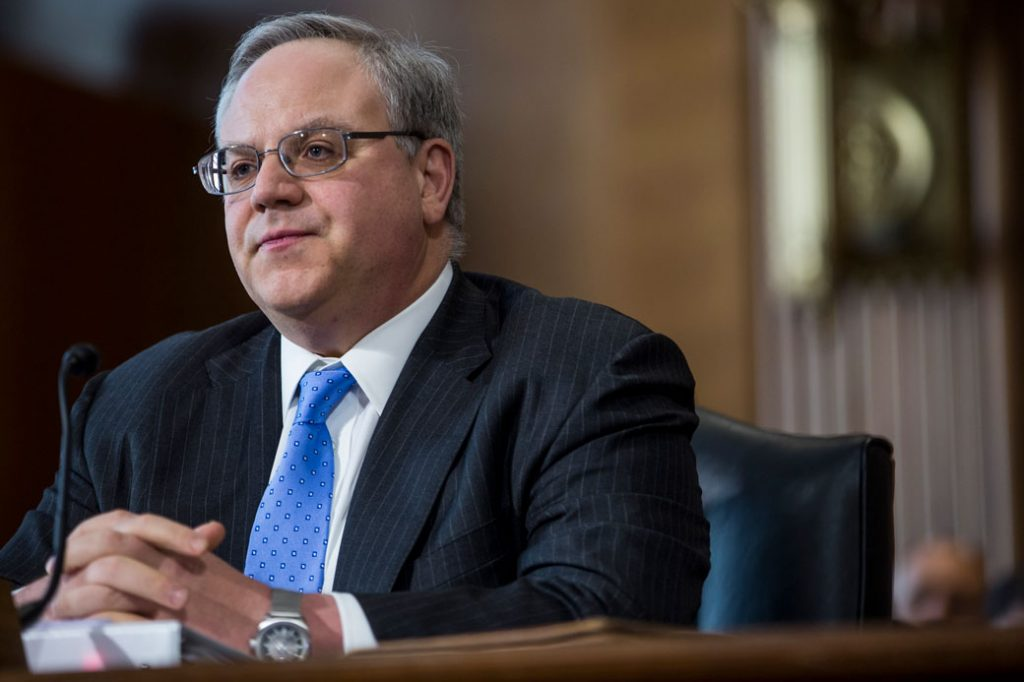 U.S. Secretary of the Interior David Bernhardt is pictured here in March 2019, in Washington, D.C.