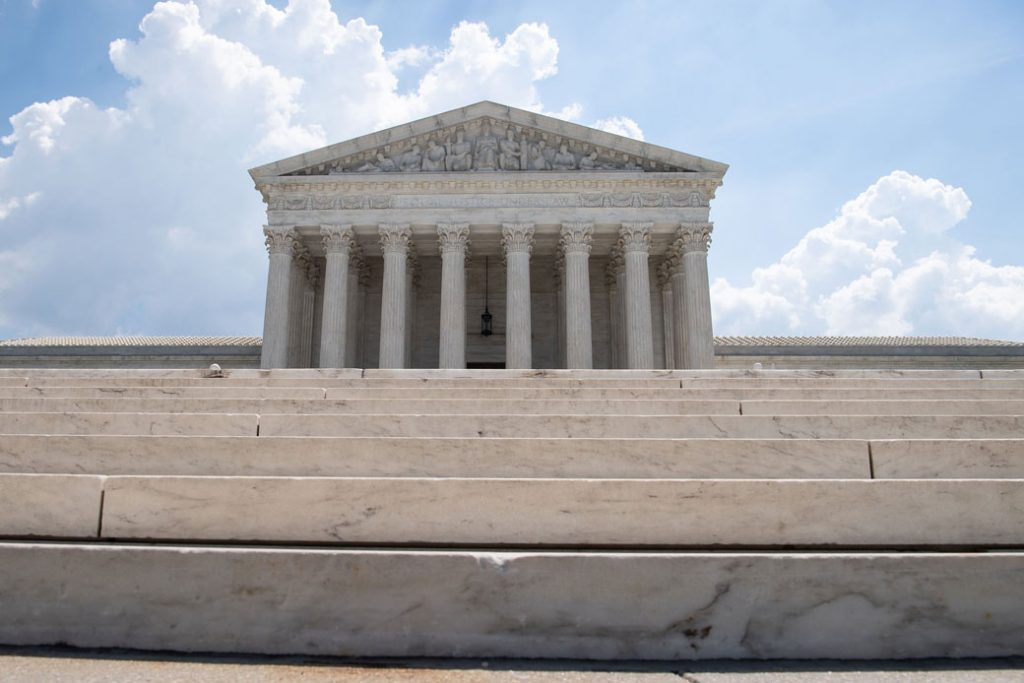 The U.S. Supreme Court in Washington, D.C., June 2019.