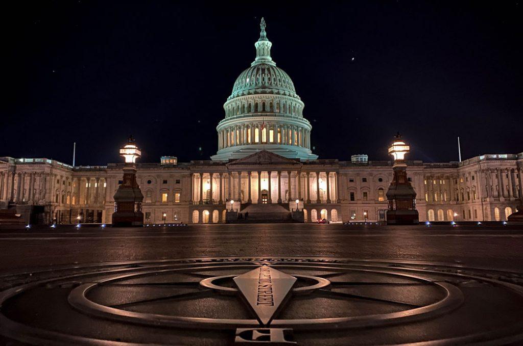 The U.S. Capitol in Washington, D.C., April 2020.