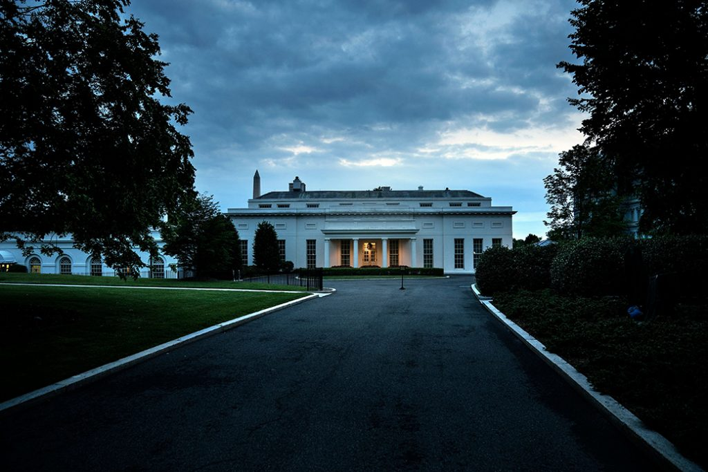 A view of the West Wing of the White House, May 27, 2017, in Washington.