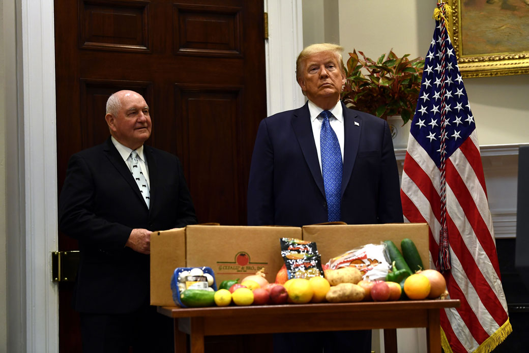 http://Donald%20Trump%20and%20Sonny%20Perdue's%20USDA%20Made%20the%20COVID-19%20Hunger%20Crisis%20Worse