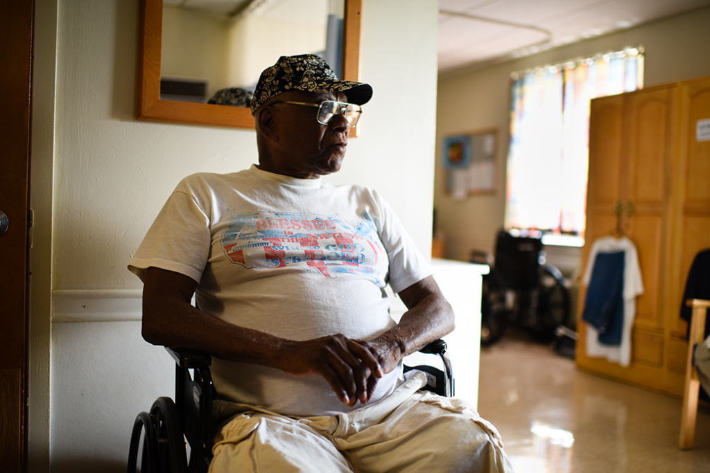 Washington, D.C., was sued by AARP and other advocacy groups for failing to help eligible Medicaid recipients move out of nursing homes and receive care in their homes, August 2016.
