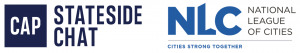 Stateside Chat and National League of Cities logos