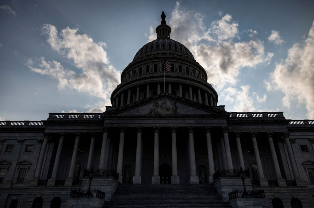 The U.S. Capitol Building, August 2021.