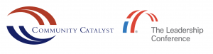 logos for Community Catalyst and Leadership Conference organizations