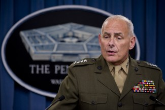 Resist Gen. John Kelly's Nomination for Secretary of Homeland Security