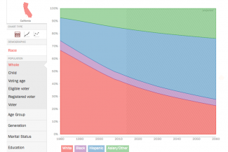 INTERACTIVO: La Evolución Demográfica del Electorado Estadounidense, 1980-2060