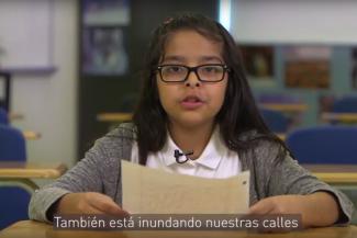 Estos estudiantes del cuarto grado de la Florida tienen un mensaje sobre el cambio climático para sus funcionarios electos