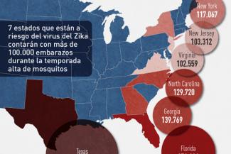 INFOGRÁFICA: El embarazo, la anticoncepción, y la expansión de Medicaid en frente al virus de Zika
