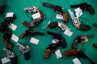 Estados Unidos está mandando armas y crimen a México