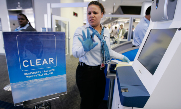 Tsa badged escorts at airports