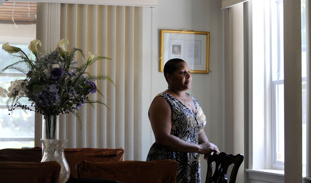 AP Steve RuarkDeborah Goldring Stands Inside Her Baltimore Home On Thursday June 30 2011 Pulled Herself Out Of Poverty And Earned A Middle Class