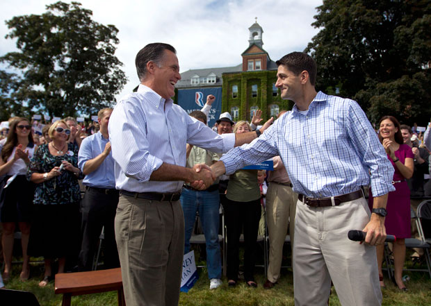 Gov. Romney and Rep. Ryan want to once again rig the system for the rich and let the wealthy get wealthier at the expense of everyone else.