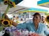 Flower vendor in Florida