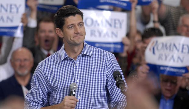 Republican vice-presidential candidate Rep. Paul Ryan (R-WI) speaks at WestPac Restorations in Colorado Springs, Colorado, Thursday, September 6, 2012.