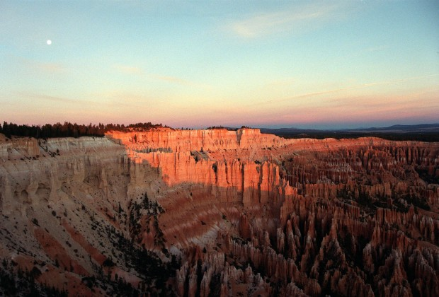 Late afternoon in Bryce Canyon