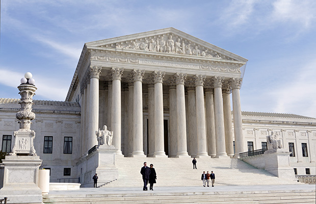 The U.S. Supreme Court Building is seen in Washington, D.C.