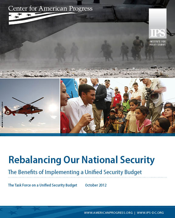 Rebalancing Our National Security