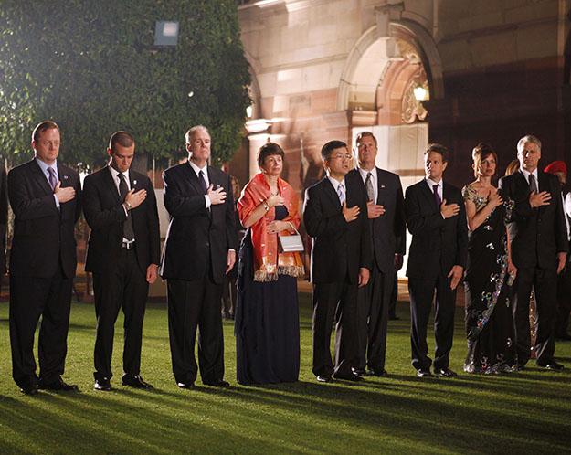 State dinner for President in India