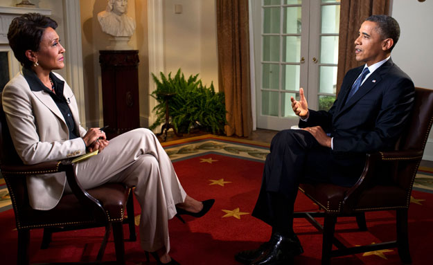 President Obama and Robin Roberts talk about marriage equality