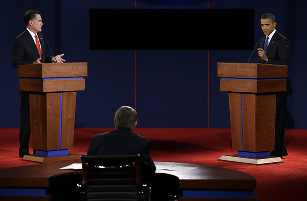 First 2012 presidential debate