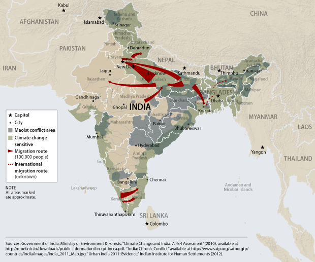 Climate Change, Migration, and Conflict in South Asia ...
