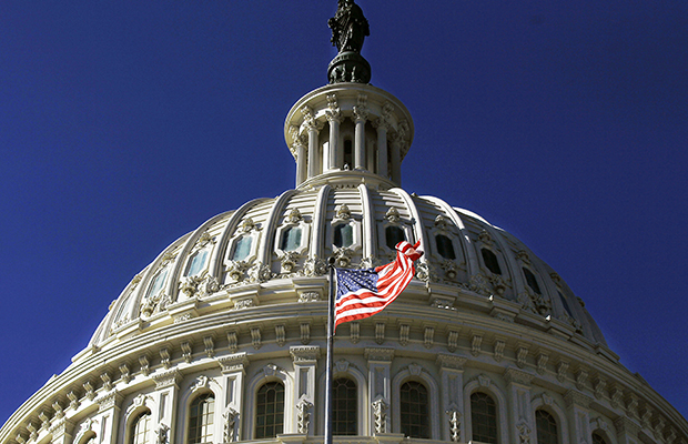The U.S. Capitol Building is seen in Washington.