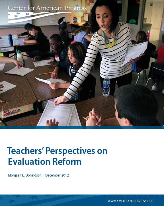 Teachers' Perspectives on Evaluation Reform