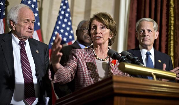 Nancy Pelosi, Sander Levin, Steve Israel