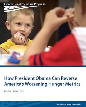 How President Obama Can Reverse America's Worsening Hunger Metrics