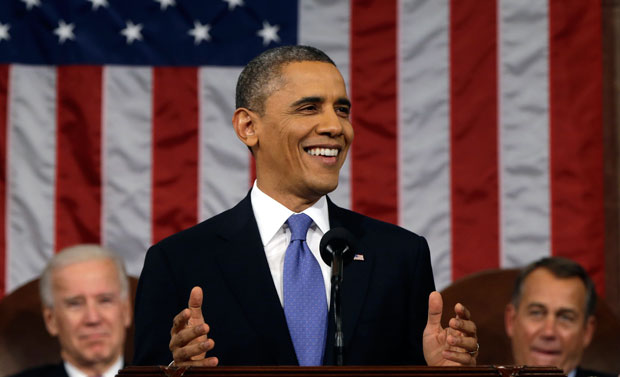 President Barack Obama delivers his State of the Union address, which mentioned raising the minimum wage from $7.25 per hour to $9 per hour. Doing so would greatly impact all workers, especially female minimum-wage earners.