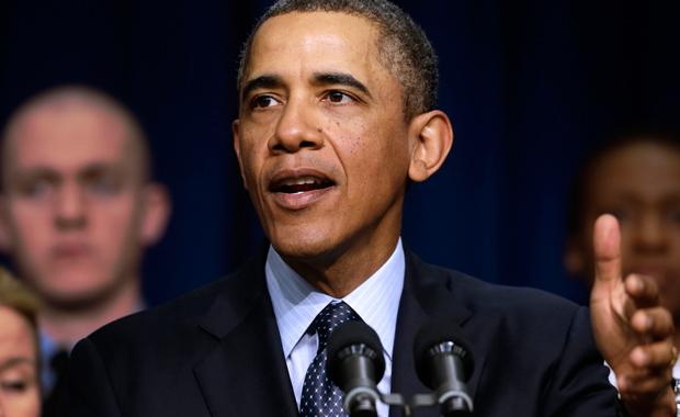 President Barack Obama speaks about the sequester in Washington, D.C.